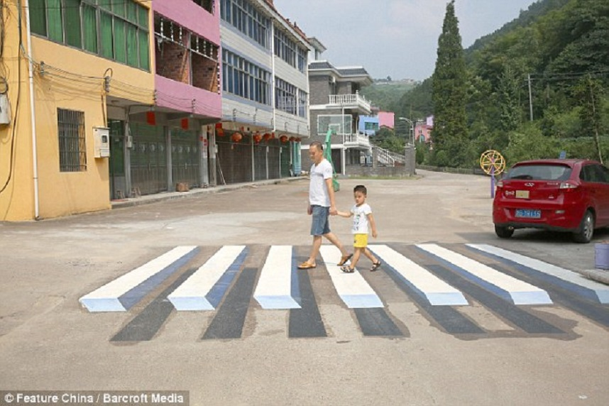 zebra cross 3D