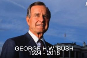 Presiden AS ke-41 George H.W. Bush Tutup Usia