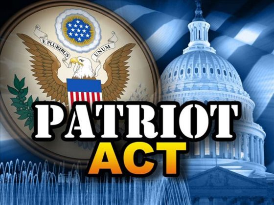 a history of the patriot act