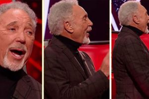 "Tom Jones Mencuri Pertunjukan pada Acara 'The Voice' Ketika Dia Menyanyikan Lagu ""Great Balls Of Fire"""