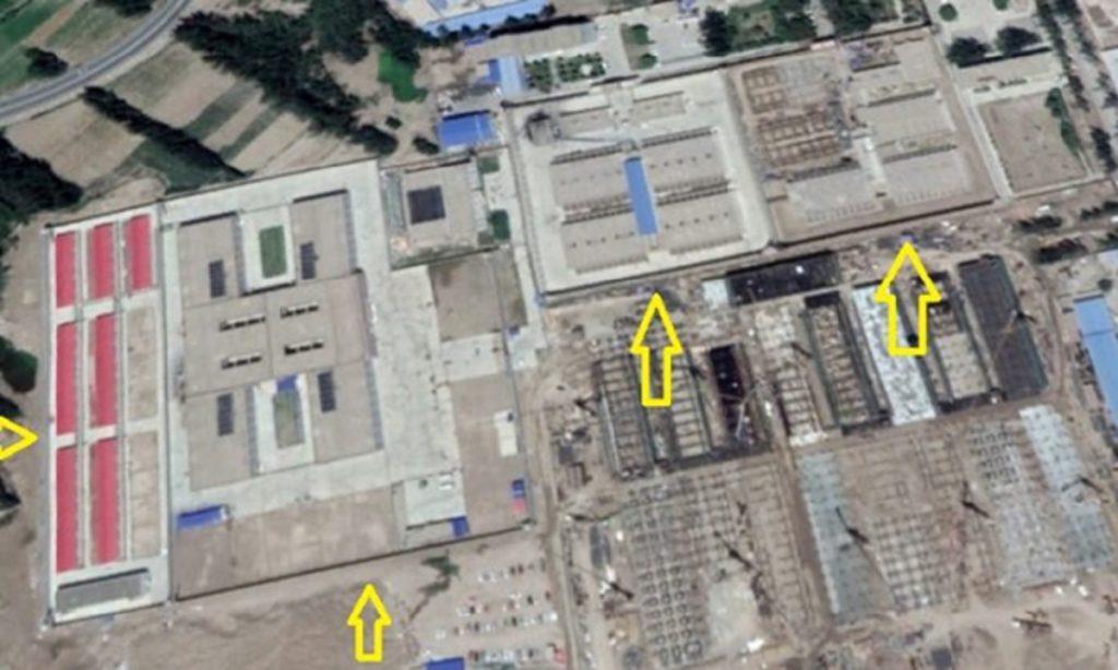 jumlah penahanan muslim uighur di penjara xinjiang