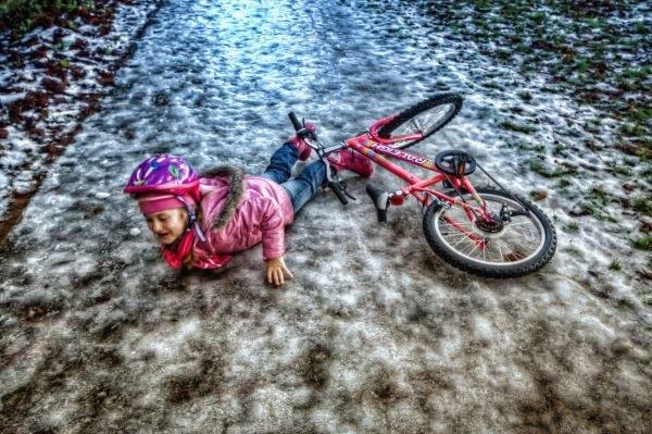 sepeda anak buatan cina tiongkok salah produksi