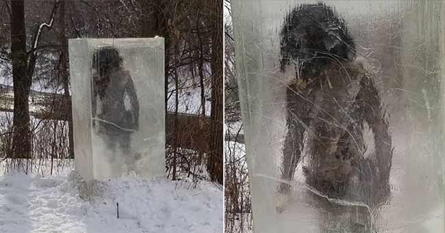 patung manusia gua