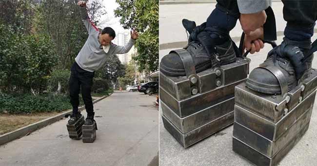 sepatu besi